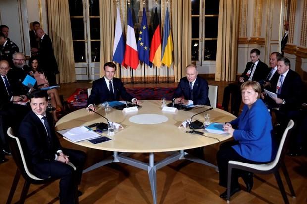 Positives Ereignis beim Normandie-Gipfel  - ảnh 1