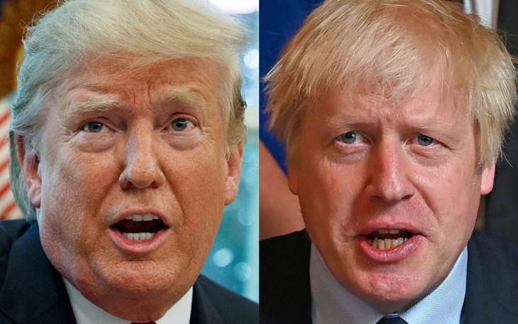 USA und Großbritannien streben ein Freihandelsabkommen an - ảnh 1
