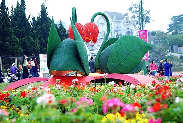 Entdeckung des Blumensfestivals von Da Lat - ảnh 1