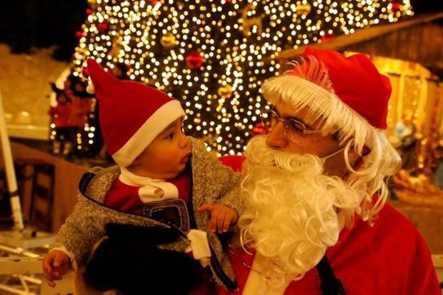 Belebte Weihnachtsstimmung im Geburtsort Jesu - ảnh 1