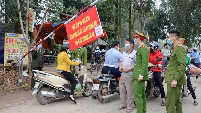 Covid-19-Epidemie: Die Isolationszeit in der Gemeinde Son Loi in der Provinz Vinh Phuc läuft ab - ảnh 1