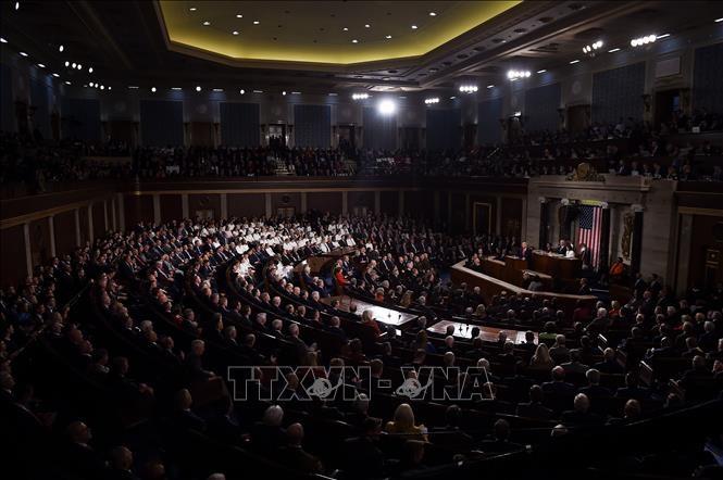 US-Präsident Donald Trump legt Veto gegen Resolution zu Iran ein - ảnh 1