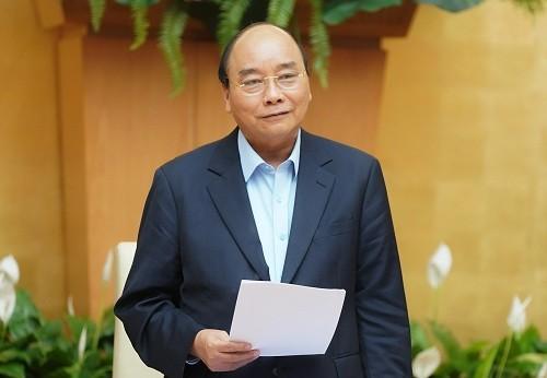 Premierminister Nguyen Xuan Phuc übernimmt den Vorsitz der nationalen Kommission für E-Regierung - ảnh 1