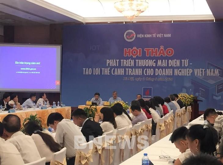 Entwicklung des elektronischen Handels: Schaffung der Wettbewerbsvorteile für Unternehmen - ảnh 1