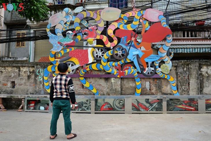 Botschaft zum Umweltschutz aus der Kunststraße am Roten Fluss - ảnh 5