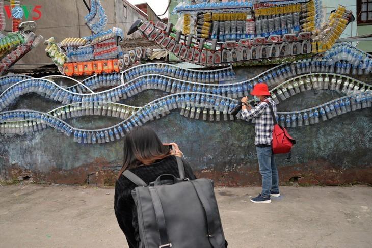 Botschaft zum Umweltschutz aus der Kunststraße am Roten Fluss - ảnh 7