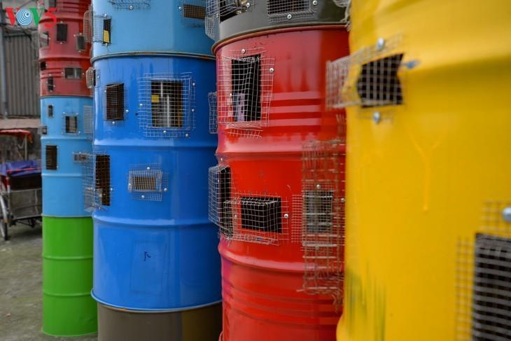 Botschaft zum Umweltschutz aus der Kunststraße am Roten Fluss - ảnh 8