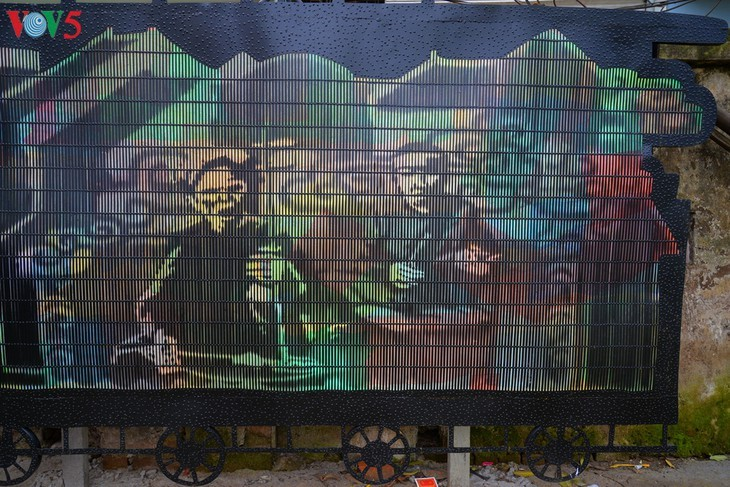 Botschaft zum Umweltschutz aus der Kunststraße am Roten Fluss - ảnh 10