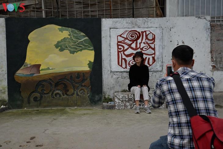 Botschaft zum Umweltschutz aus der Kunststraße am Roten Fluss - ảnh 14