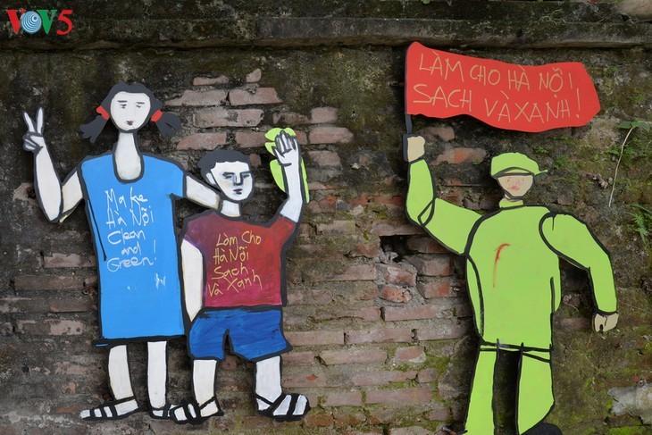 Botschaft zum Umweltschutz aus der Kunststraße am Roten Fluss - ảnh 15