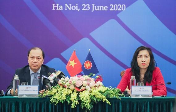 """Vietnam betont erneut Thema """"Verbindung und aktive Anpassung"""" auf 36. ASEAN-Gipfeltreffen - ảnh 1"""