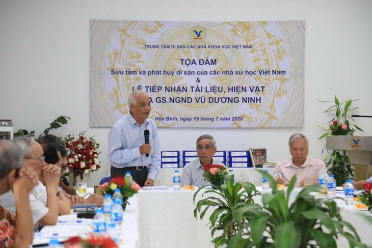Sammlung und Erhalt des Erbes vietnamesischer Historiker - ảnh 1