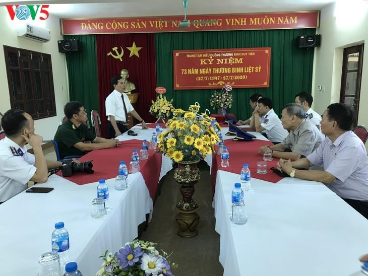 Pflegezentrum für Kriegsinvaliden Duy Tien – Ort zur Minderung des Kriegsleides - ảnh 10