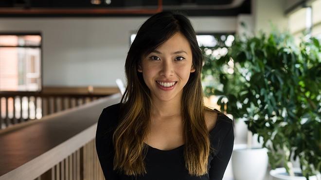 Ausstellung über Weben von Matten der vietnamesischen Designerin in den USA - ảnh 1