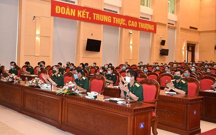 Zeremonie zur Ermutigung der Delegation der vietnamesischen Volksarmee bei den internationalen Armeespielen - ảnh 1