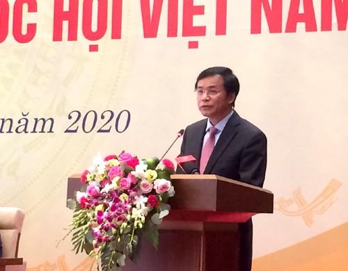 """Start des Pressewettbewerbs """"75 Jahre vietnamesisches Parlament"""" - ảnh 1"""