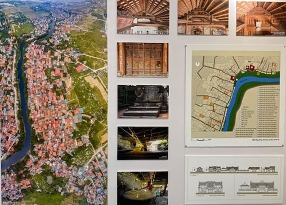 Ausstellung der Architektur traditioneller vietnamesischer Dörfer - ảnh 1