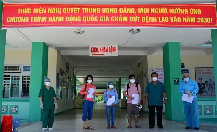 Weitere Covid-Patienten aus dem Krankenhaus entlassen - ảnh 1