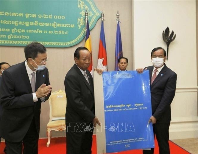 Kambodscha-Vietnam-Grenzkarte wird an die UNO geschickt - ảnh 1