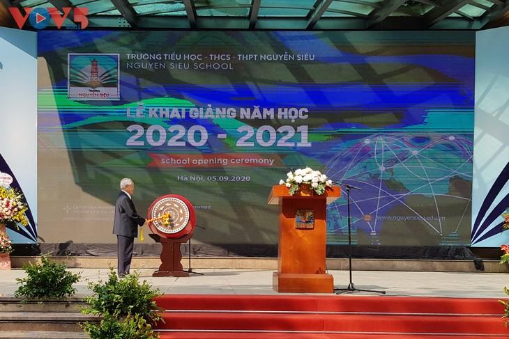 Fast 23 Millionen Schüler in Vietnam beginnen das neue Schuljahr - ảnh 1