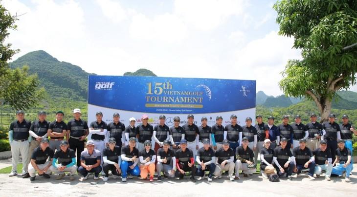 Abschluss des Golfturniers zum 15. Gründungstag des vietnamesischen Golfmagazins - ảnh 1