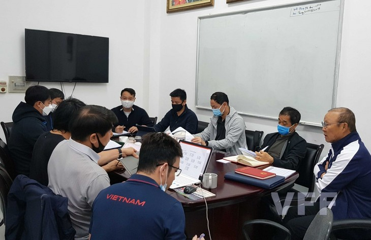 Trainer Park Hang-seo stellt Plan zur Umsetzung der Aufgaben des vietnamesischen Fußballs auf - ảnh 1