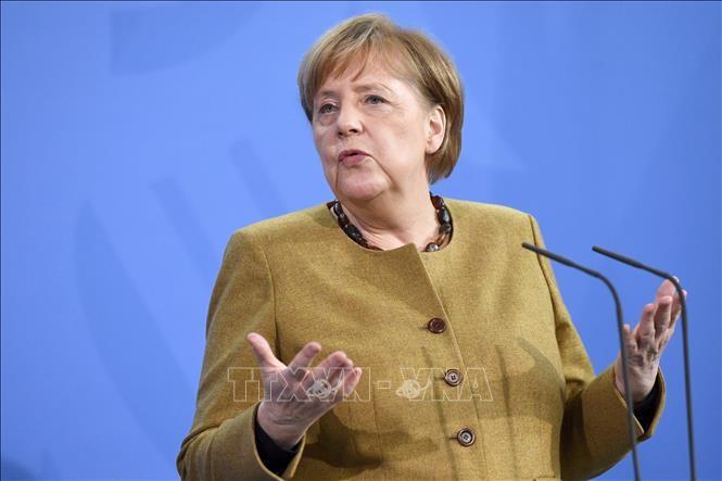 Weltfrauentag: Bundeskanzlerin Angela Merkel warnt vor alten Rollenmustern - ảnh 1