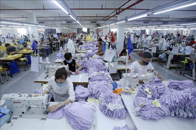 Vietnamesische Textilprodukte haben großen Anteil auf dem internationalen Textilmarkt - ảnh 1