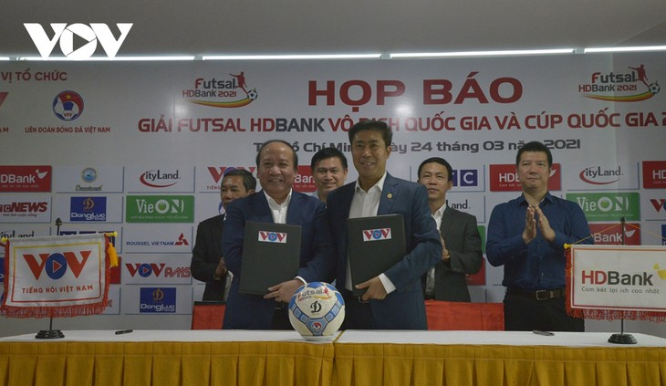 Start der Futsal-Nationalmeisterschaft 2021 - ảnh 1