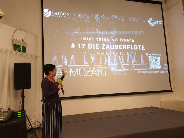 """Vorführung der Oper """"Die Zauberflöte"""" im Goethe Institut Hanoi - ảnh 1"""