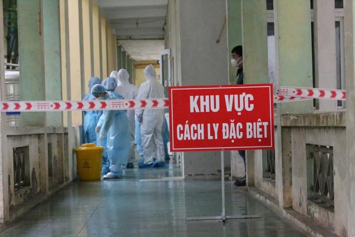 Vietnam meldet eine Covid-19-Neuinfektion am Sonntagnachmittag - ảnh 1