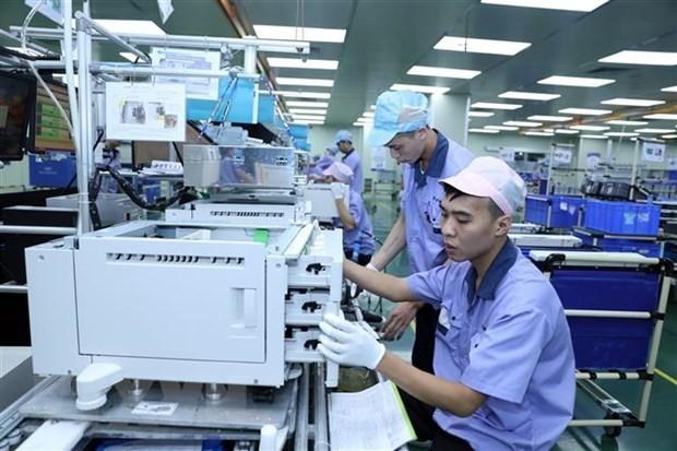 Vietnamesische Wirtschaft wächst durch die Beteiligung an der globalen Lieferkette - ảnh 1