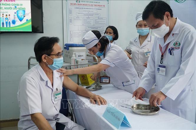 Weitere zehn Covid-19-Neuinfektionen in Vietnam gemeldet - ảnh 1