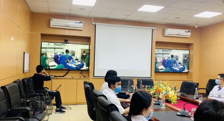 Fast 1.500 Krankenhäuser und medizinische Stationen beteiligen sich am System von Fernuntersuchungen - ảnh 1
