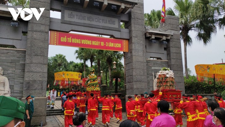 Lebhafte Kulturaktivitäten zum Todestag der Hung-Könige in Ho Chi Minh Stadt - ảnh 1