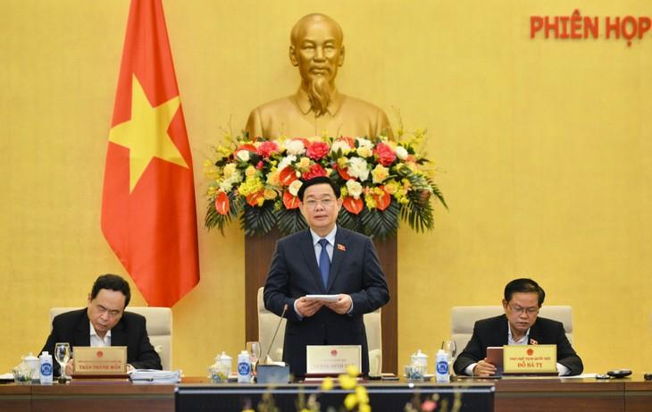 Eröffnung der 55. Sitzung des Ständigen Parlamentsausschusses - ảnh 1