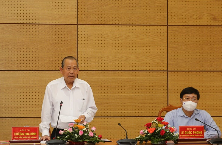 Dong Thap kontrolliert Grenze, um illegale Einreise zu verhindern - ảnh 1