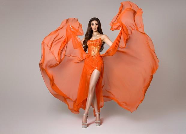 Miss Universe Vietnam Nguyen Tran Khanh Van gehört zu den Top 21 der Miss Universe 2020 - ảnh 1