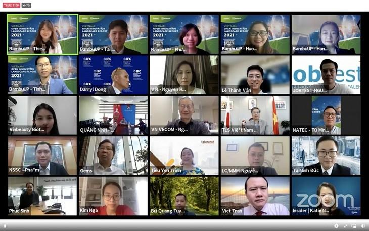"""Start des Berichtes """"Überblick auf offene Innovation Vietnams"""" - ảnh 1"""