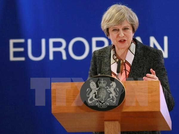 英国脱欧谈判无法于六月前举行 - ảnh 1