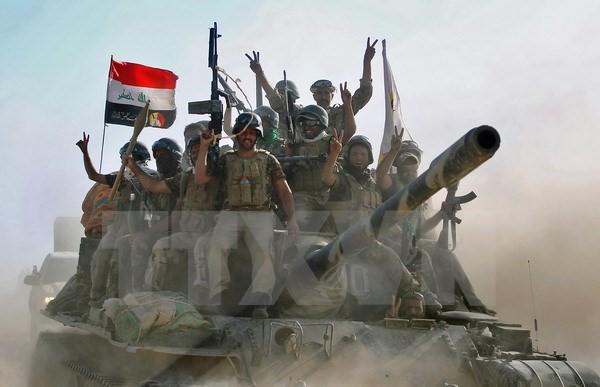 """伊拉克有关力量在打击""""伊斯兰国""""行动中取得多项胜利 - ảnh 1"""