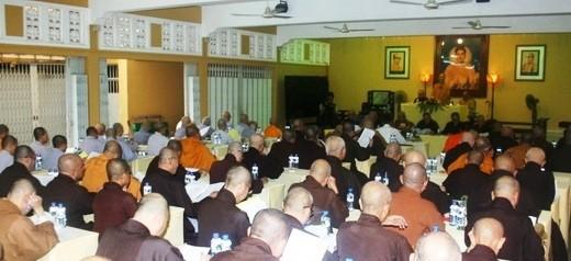 Ho Chi Minh Stadt feiert den Geburtstag Buddhas  - ảnh 1
