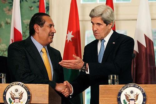USA und Israel begrüßen neue Stellungnahme der Arabischen Liga zum Landtausch - ảnh 1