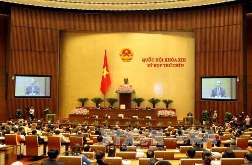 Parlament diskutiert den Entwurf der geänderten Zivilprozessordnung - ảnh 1