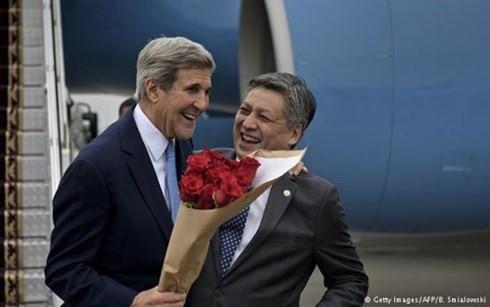 USA bemühen sich um mehr Einflüsse auf Zentralasien - ảnh 1