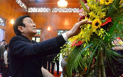 Staatspräsident besucht Nghe An zum Tetfest - ảnh 1