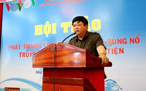VOV-Intendant Nguyen The Ky: VOV zu einem Multimediakomplex entwickeln - ảnh 1