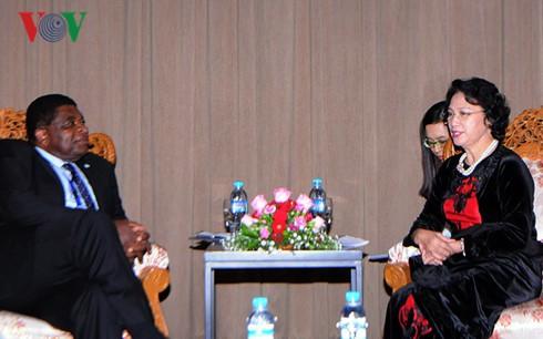 Parlamentspräsidentin trifft Generalsekretär der Interparlamentarischen Union IPU - ảnh 1