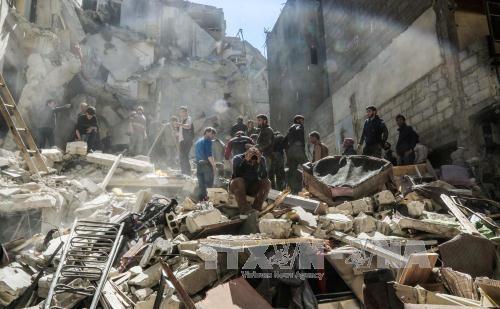 USA begrüßen den Plan zur Einrichtung einer Schutzzone in Syrien - ảnh 1