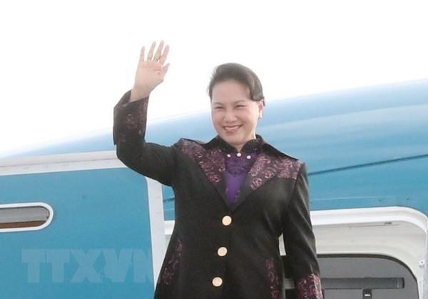 Parlamentspräsidentin Nguyen Thi Kim Ngan besucht Frankreich - ảnh 1
